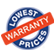 Lowest Price Warranty
