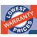 Lowest Price Warranty